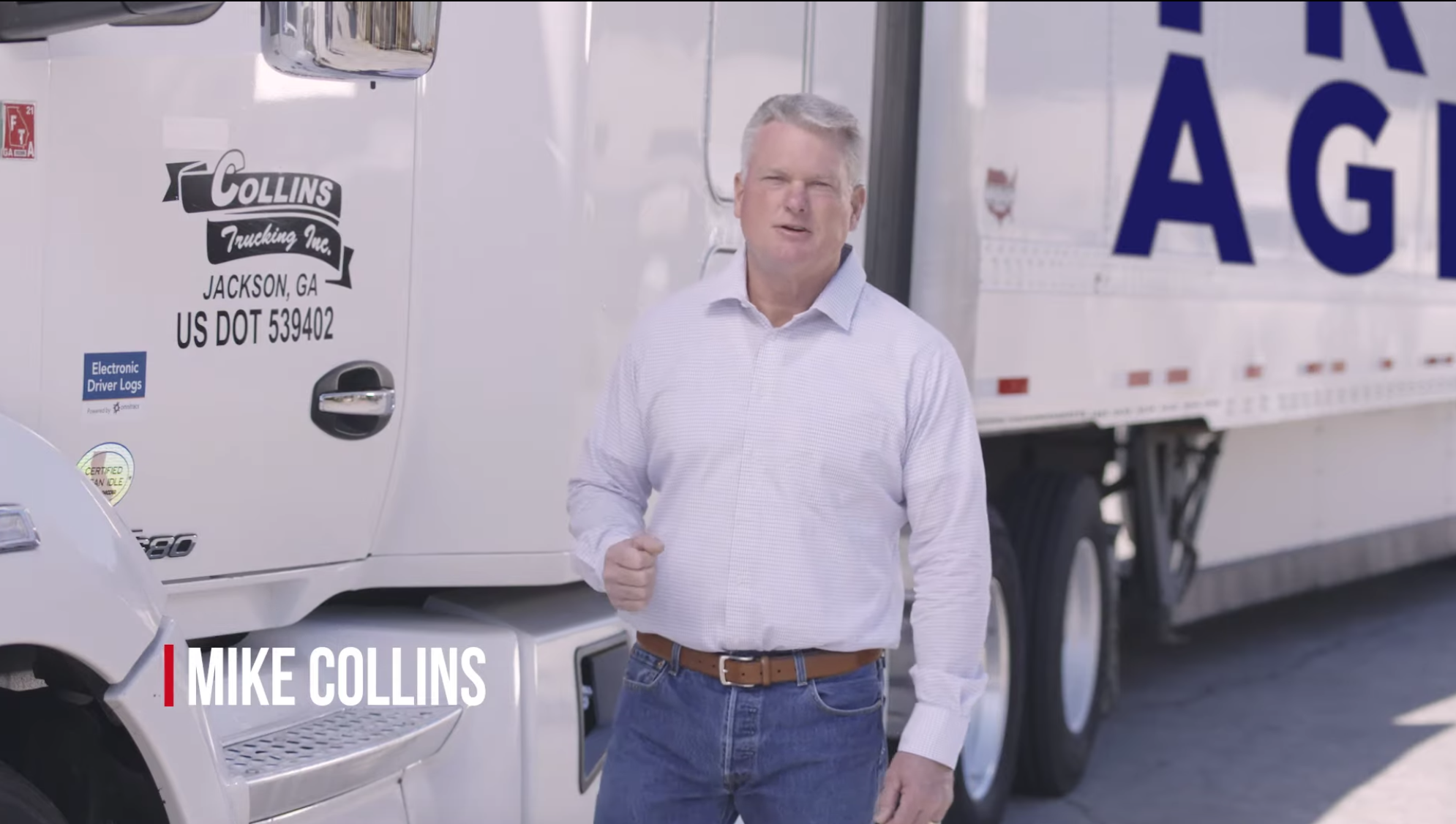 """WATCH NOW: Collins campaign launches first video ad """"Let's Roll"""""""