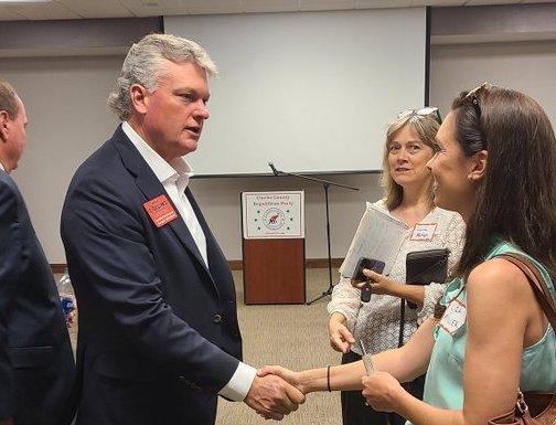 Collins Fundraising Haul Cements Frontrunner Status