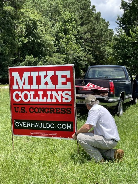 Yard Signs Going Up